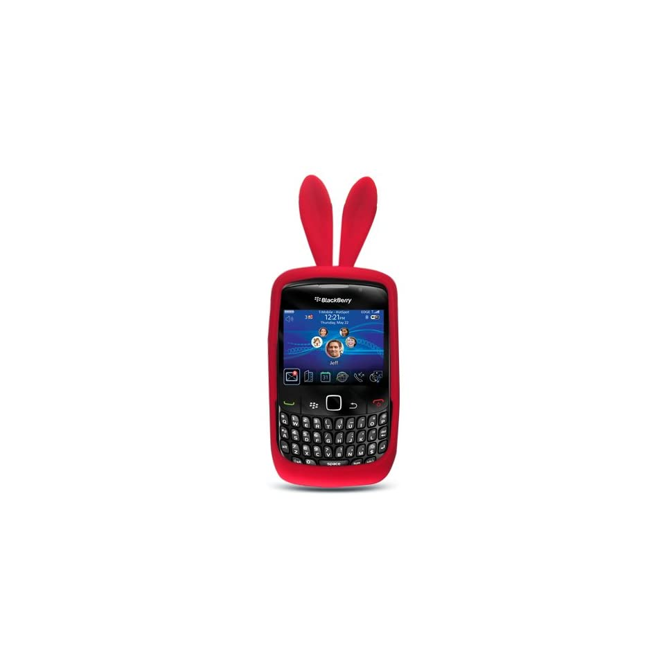 Red Rabit Bunny Design Soft Silicone Skin Gel Cover Case
