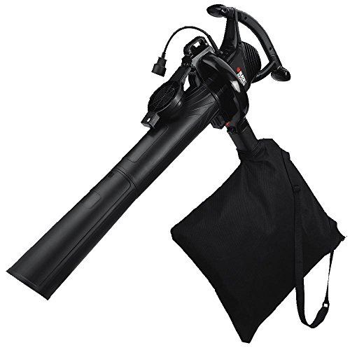 Black & Decker BV3100 12-Amp Blower/Vacuum/Mulcher (Black And Decker Leaf Bag compare prices)