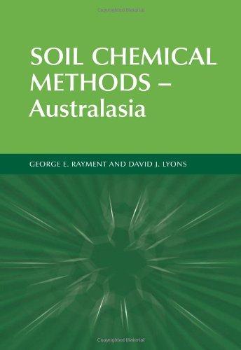 Soil Chemical Methods - Australasia (Australian Soil And Land Survey Handbooks Series) (V. 3)