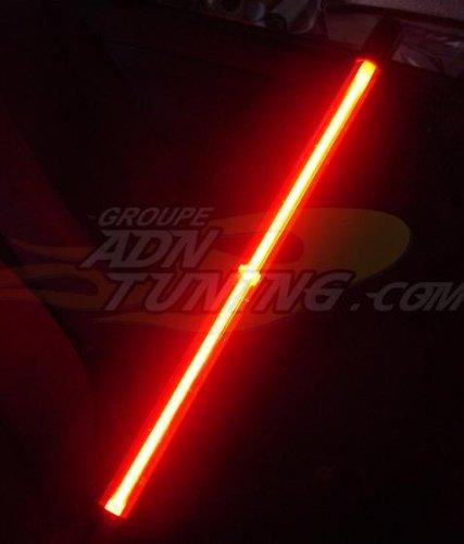 Neon -bas de caisse- 2 pieces - 60cm - Rouge - 12V - 666-CaL