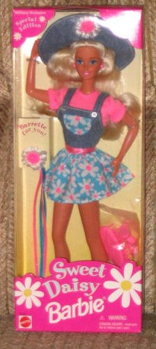 1996 Sweet Special Edition Daisy Barbie, Military Exclusive