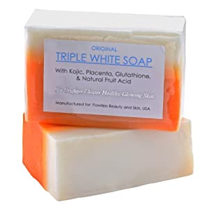 3 Bars of Kojic Acid, Placenta