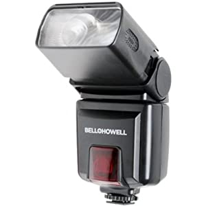 Bell & Howell Z480AF-OP Camera Flash for Olympus/Panasonic (Black)