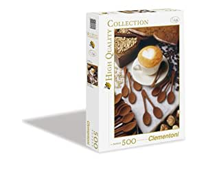 Clementoni 30343.4 - Puzzle High Quality Collection, I love cappuccino, 500 Teile