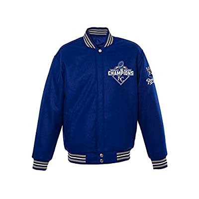 2015 Kansas City Royals World Series Champ Wool Jacket