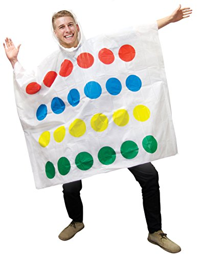 Hasbro Twister Poncho Costume - Low Cost