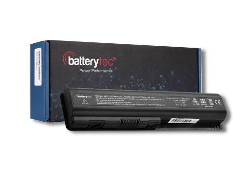 Batterytec®HP Pavilion Batteria per HP Notebook PC Portatile HP Pavilion DV4 DV5 DV6 DV6-2113SA DV6-2020SA DV6-2010SA; HP Presario G60-235DX G70-111EM G70-120EM G70-120EA; fits 485041-001 498482-001 485041-003 482186-003 EV06055 EV06047 HSTNN--W50C KS524AA [10.8v 4400mAh 12 mesi di garanzia]