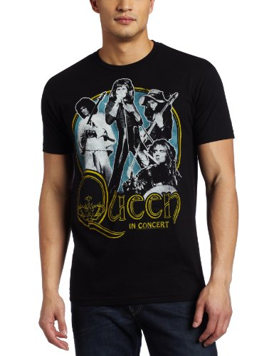 Old Glory Uomo Queen - In Concert Soft T-Shirt - Small Nero
