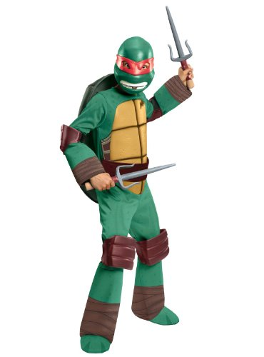 Teenage Mutant Ninja Turtles Deluxe Raphael Costume