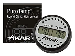 Xikar Round Digital Hygrometer from Xikar