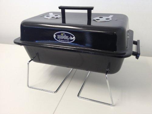 Kool Charcoal BBQ Grill With 3 Pc Tool Set