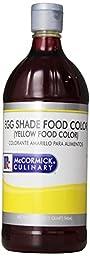 Mccormick Egg Shade (Yellow) Food Coloring, 32 Ounce