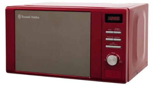Russell Hobbs RHM2064R Digital Microwave, 20 Litre - Red
