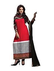 Vibes Designer Pure Georgette Dress Materials V165-14004