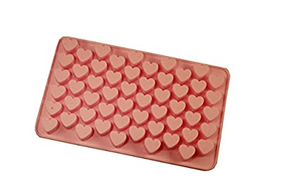 ★SPTRACO★ SET OF 2 - Silicone Heart Mold Tray for Candy Ice Chocolate Soaps & More!
