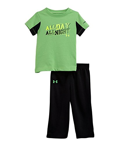 Under Armour Baby-Boys Infant Score Set, Green Energy, 18 Months front-155268