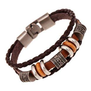 ibegem-magnifique-bracelet-unisexe-homme-femme-de-type-tibetain-en-cuir-marron-fonce-orne-de-breloqu