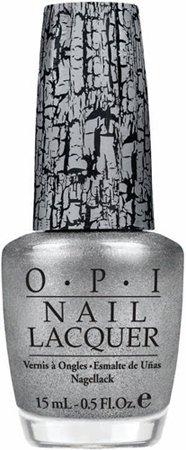 OPI Silver Shatter Nail Polish NL E62