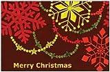 クリスマスカード(2つ折り ・封筒付き)No.2