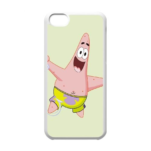 iPhone 5c Cell Phone Case White sponge Bob 16 Eljpr