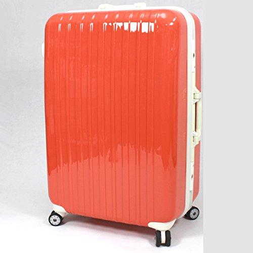 TSAロック搭載スーツケース1301【橙/M】/ZF-G1301-OR-M/ケースG1301-M橙
