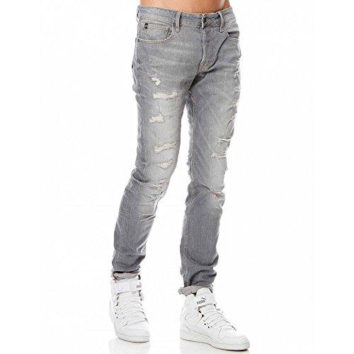 Japan Rags -  Jeans  - Uomo Grigio W31