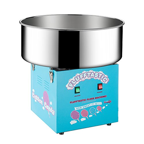 Great Northern Popcorn Company 6310 Flufftastic Table Top Electric Cotton Candy Machine/Floss Maker, Light Blue (Table Top Cotton Candy Maker compare prices)
