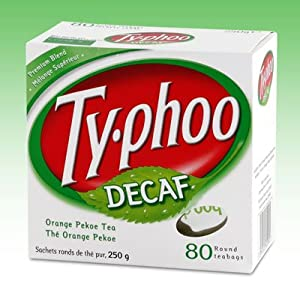 Typhoo Tea Decaf 80ct Tea Bags