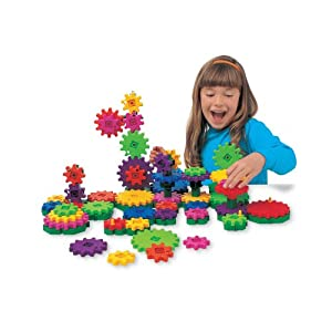 Learning Resources - Gears! Gears! Gears! Wacky Factory (Set of 130)