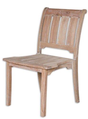 Uttermost Selva Rustic Armless Chair