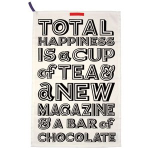 Emma Bridgewater - Black Toast Happiness Tea Towel