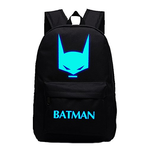 Broadmix DC Comic The Batman Profile Luminous computer backpack 19X12'' Black