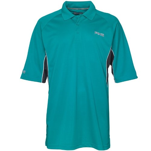 Ping Collection Mens Barts Side Panel Polo Hydro/Black