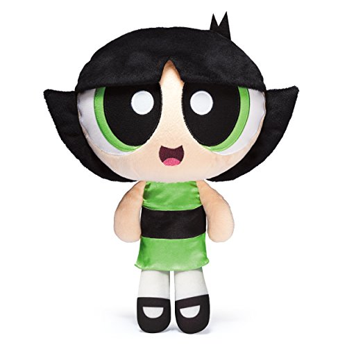 The-Powerpuff-Girls-Interactive-Plush-with-Voice-Recording-Mode-Buttercup-by-Spin-Master