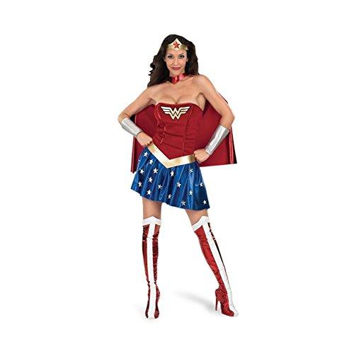 Wonder Woman - Costume da donna - Eroina della DC - Per feste in maschera o carnevale - L