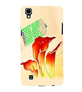 PrintVisa Quotes & Messages 3D Hard Polycarbonate Designer Back Case Cover for LG X Power