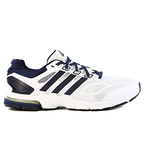 pictures of Adidas SM Supernova Sequence 6 M Running Sneaker Shoe - White/Navy/White - Mens - 9.5
