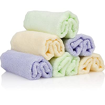 Best Bamboo Baby Washcloths Soft & Hypoallergenic Sensitive Skin Baby Wipes by Bamboo Organics by C L Brands that we recomend personally.