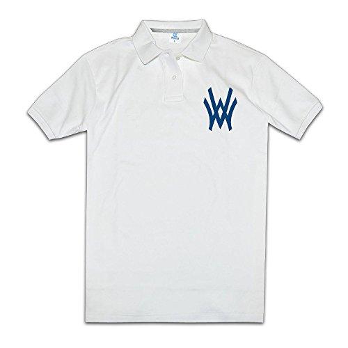 west-virginia-mountaineers-classic-logo-men-slim-polo-shirts