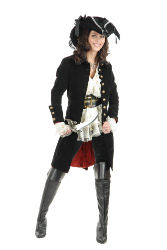 Charades Women's Pirate Vixen Jacket