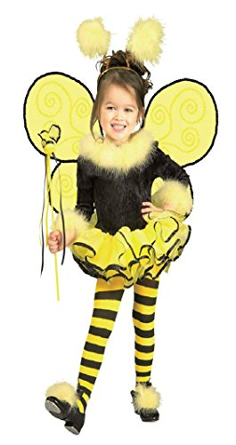 Girls Bumblebee Kids Child Fancy Dress Party Halloween Costume