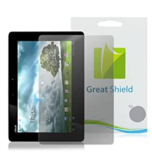 GreatShield Ultra Anti-Glare (Matte) Clear Screen Protector Film for ASUS Transformer Prime TF201 Touchscreen Tablet (3 Pack)