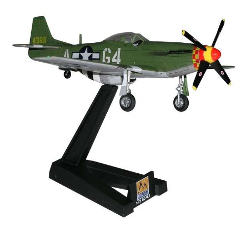 P-51D Mustang IV 362nd FS/357th FG 1944 WWII (Built-Up Plastic) Easy Model MRC