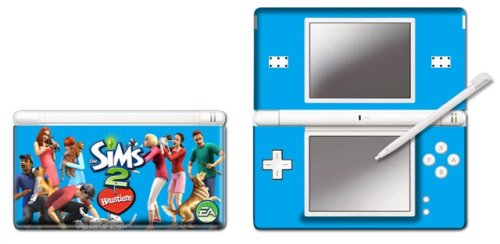 Nintendo DS Lite - Modding Skin [Die Sims 2 Haustiere] Family, Nintendo DS