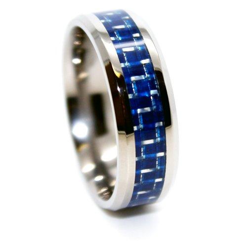 blue chip unlimited unique 8mm lightweight titanium