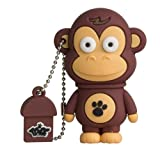 Tribe FD001401 Animals (Animali) The Originals Pendrive 8 GB Simpatiche Chiavette USB Flash Drive 2.0 Memory Stick...