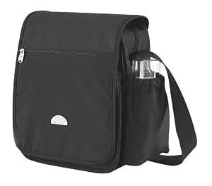babylo baby innovations mini messenger change bag black baby. Black Bedroom Furniture Sets. Home Design Ideas