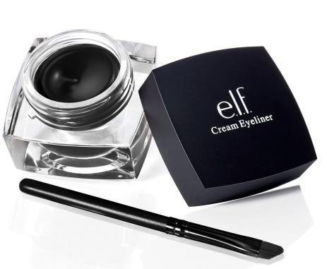 e.l.f. Cream Eyeliner, Black, 0.17 Ounce (609332811607)