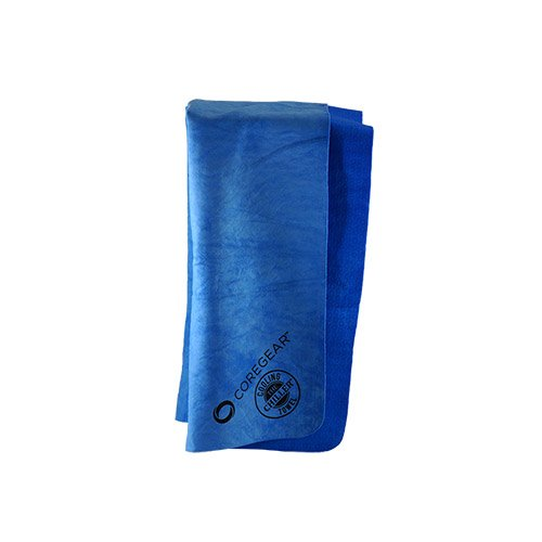 CoreGear Chillers Evaporative PVA Instant Cool Personal Sport Cooling Towel (Blue)