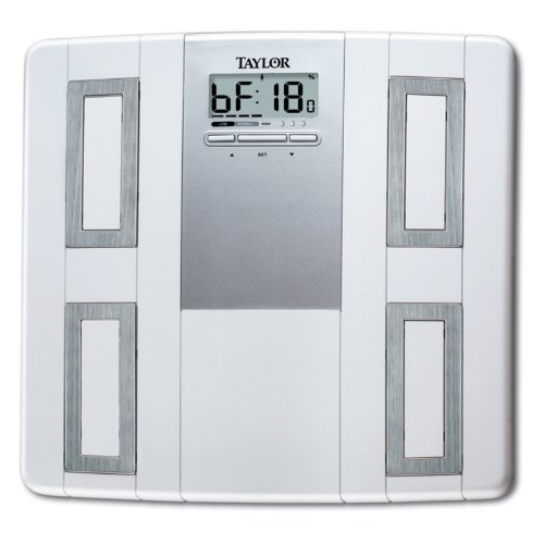 Image of Taylor 5593 Body Fat & Body Water Monitor Scale (55934012F)